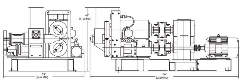 B220B Briquetting And Compacting Machine by KOMAREK
