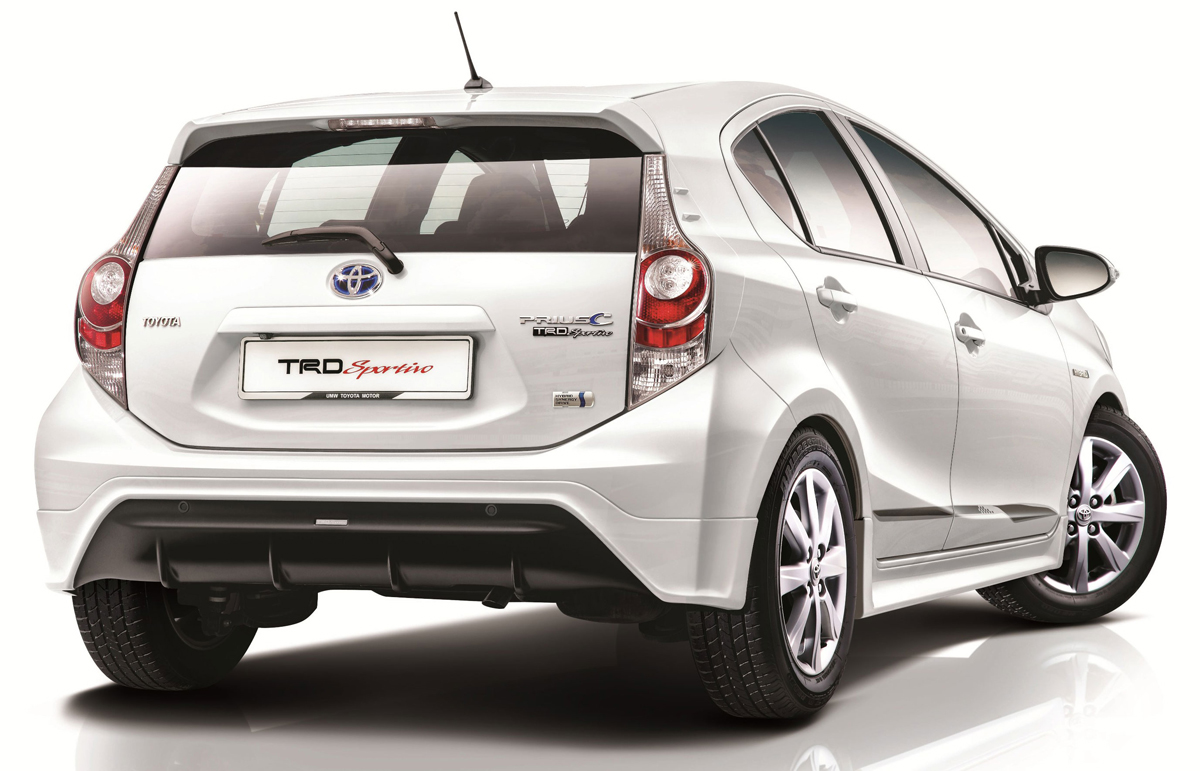 toyota yaris trd sportivo manual 2012 gambar grand new avanza veloz prius c introduced in malaysia