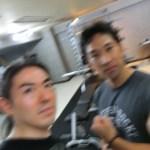神奈川県ベンチプレス王者河東さんジム来訪