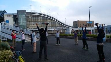 小田急多摩線はるひ野駅から11名で出発