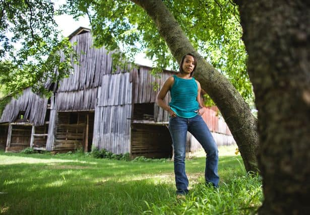 PAY Fawn Weaver on the farm she bought where Nearest Green and Jack Daniel first distilled whiskey in L