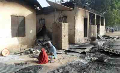 boko haram destroyed home
