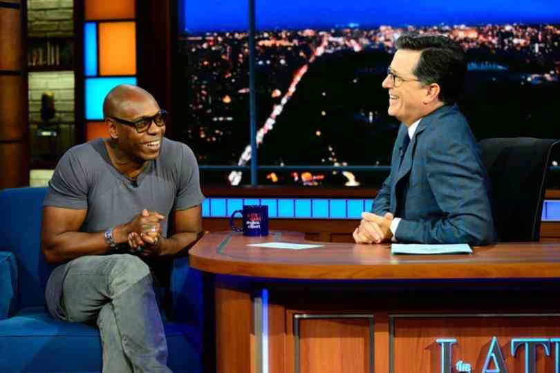 Dave Chappelle Says On Late Show He's Done Giving President Trump A Chance