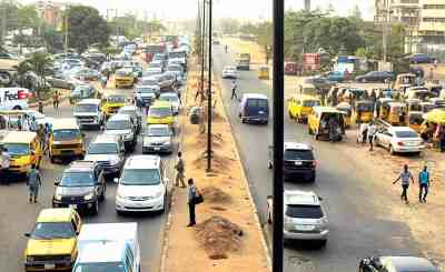 Lagos Airport Road Project