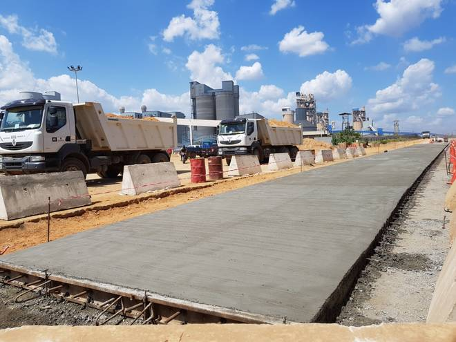2018 4large 44KM OBAJANA KABBA ROAD UNDER CONSTRUCTION