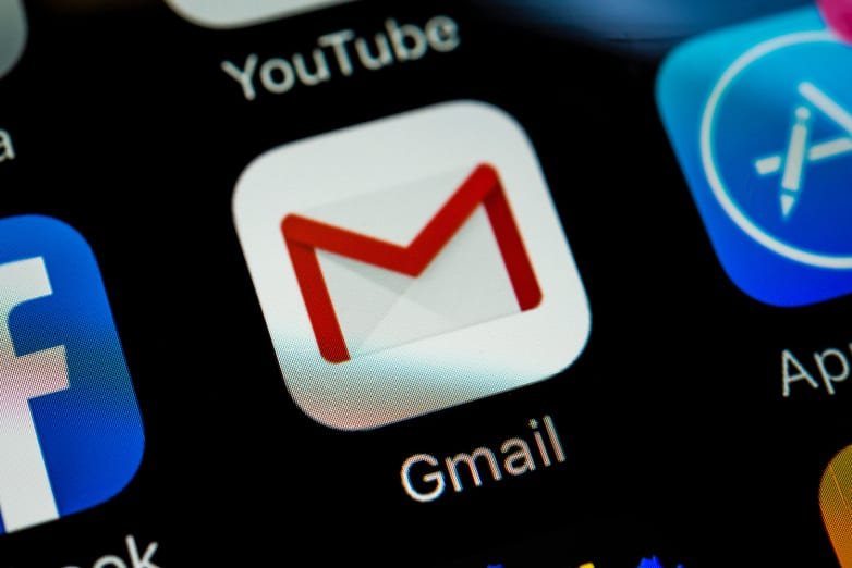 gmail icon sign