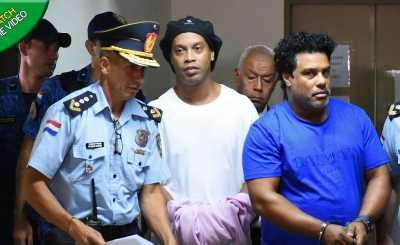 Ronaldinho arrest