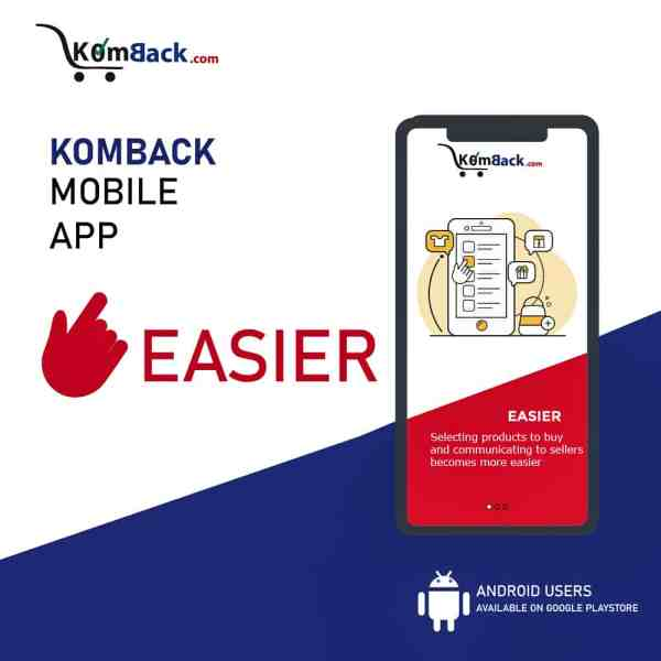 What's New With Komback Marketplace?