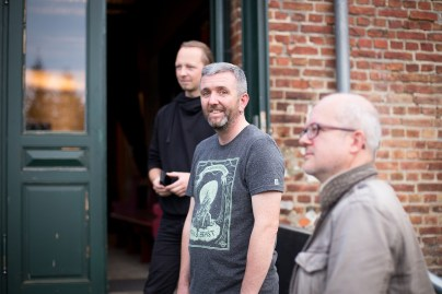 Frank Meinel, Frank Brehe, Markus Botzek (v.l.n.r.)