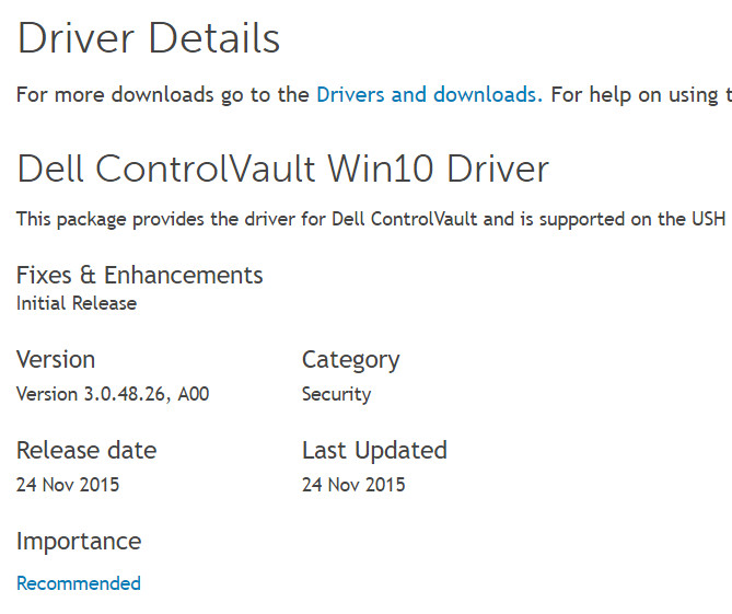 Driver for dell broadcom ush w/swipe sensor – windows 10, 8, 7.