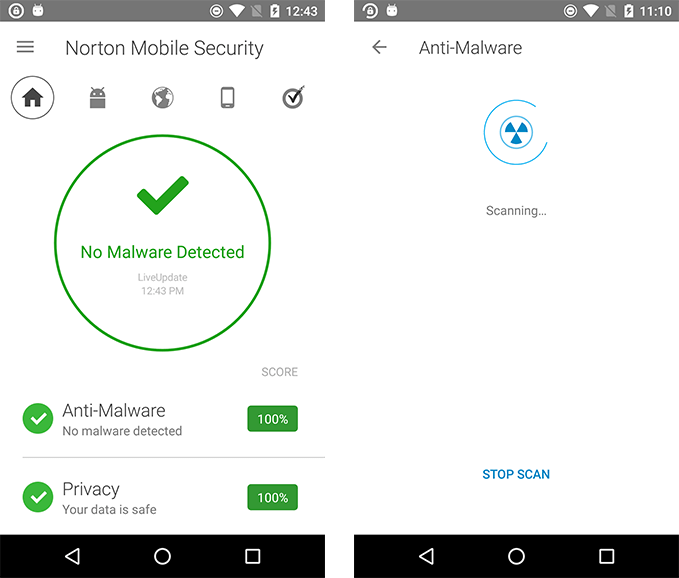 Norton Mobile Security for Android Antivirus & Anti
