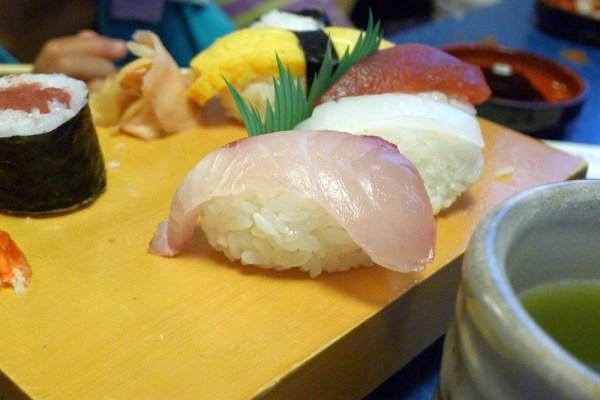 海舟のお寿司