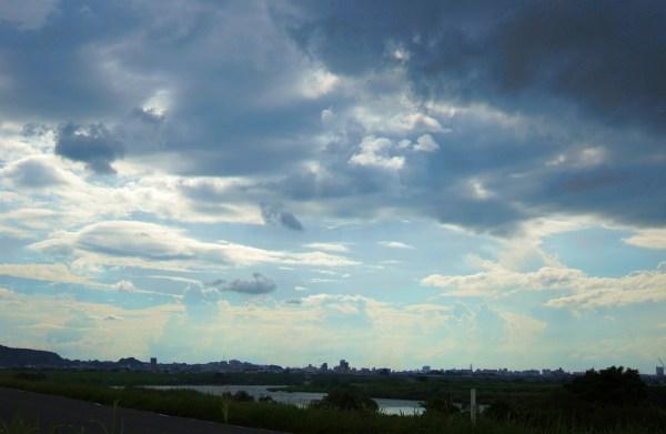 久留米の空