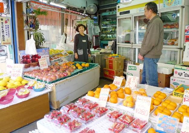ふじや果実店 店内の写真