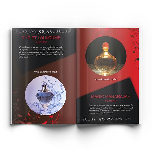 Conception catalogue