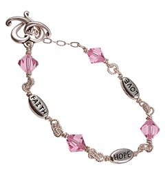Faith, Hope & Love bracelet