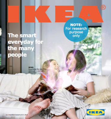 IKEA Katalog Design Fiction