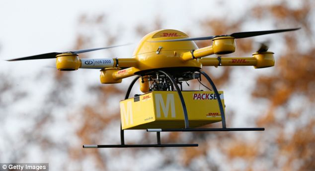 DHL Parcelcopter Drone