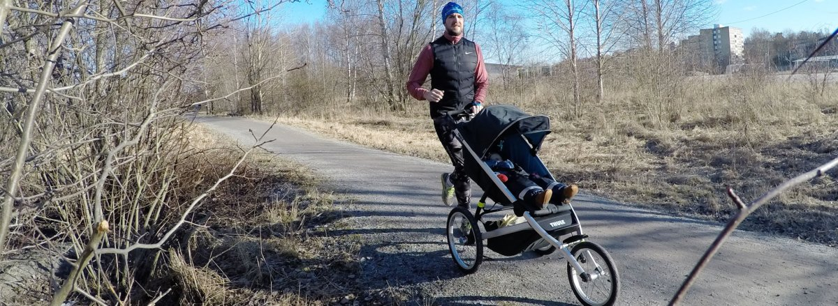 Recension: Thule Glide - Joggingvagn