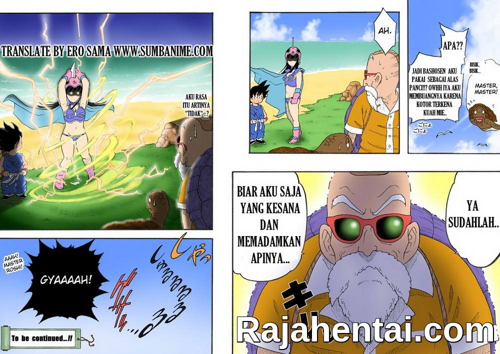 Komik Hentai Dragon Ball – Kakek Kamesenin Ngentot Cewek Montok