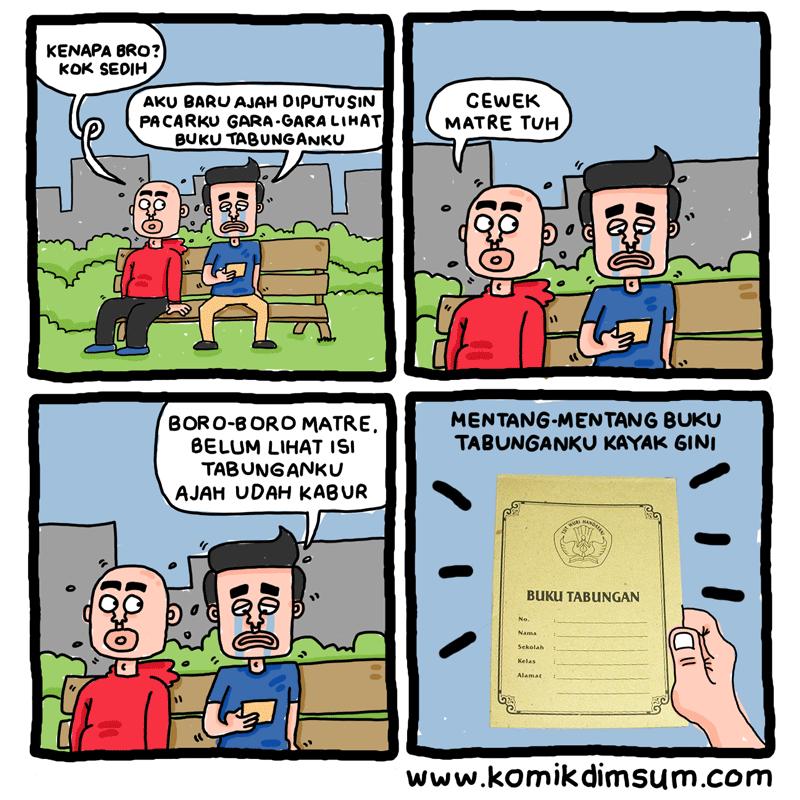 Ditinggalin Pacar