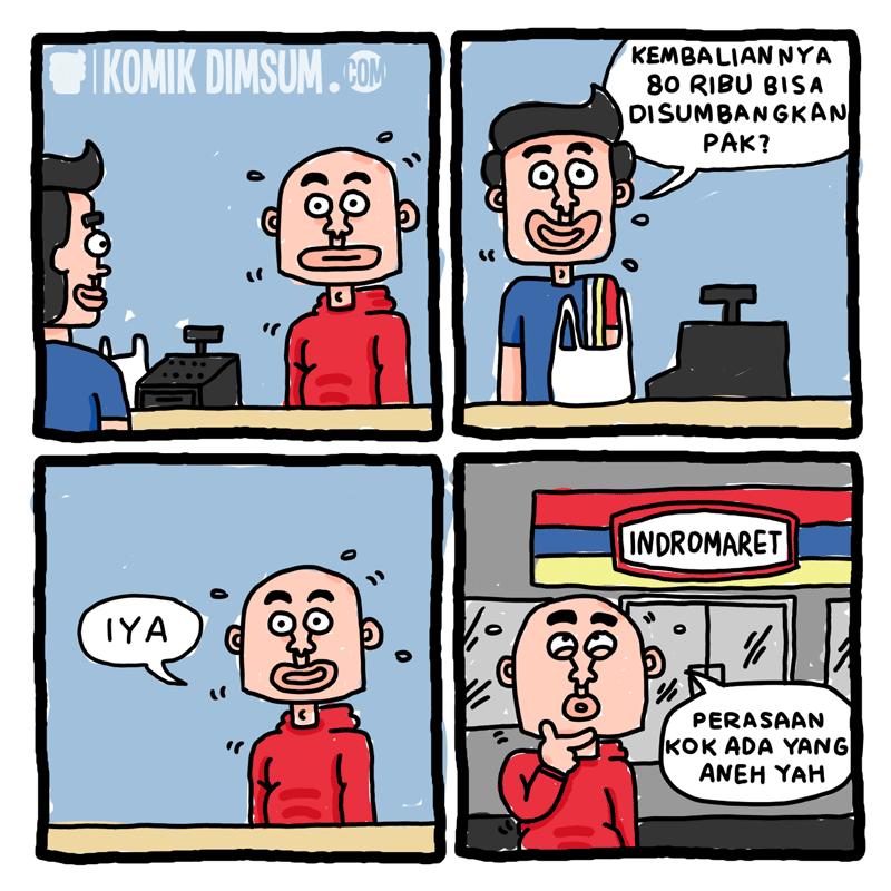 Kembalian Minimarket