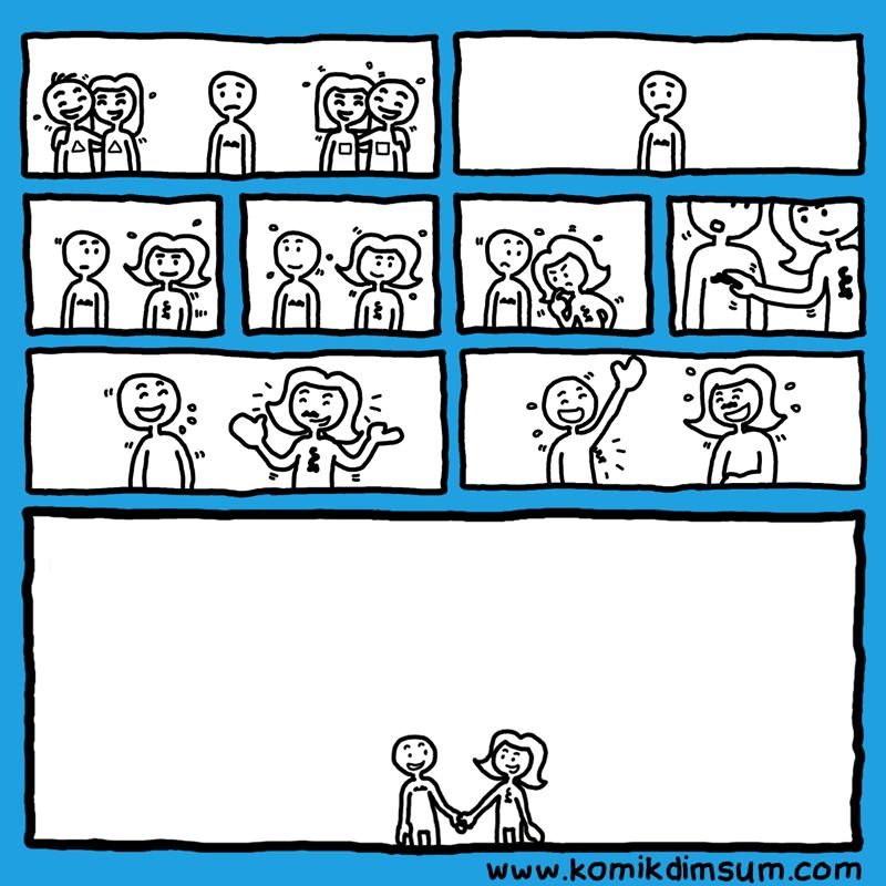 Love (Silent Komik)