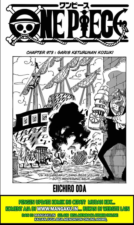 One Piece 973 Sub Indo : piece, Komik, Piece, Chapter, Sekali