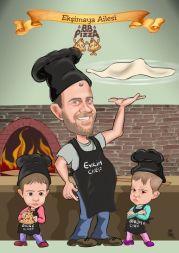 Elif-Pizza-aile-tablosu