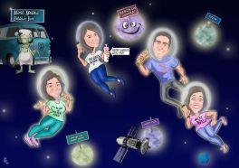 Ozgun-grup-uzayda-karikaturu