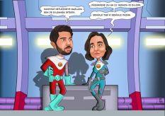 Bilimkurgu-temali-sevgililer-karikaturu
