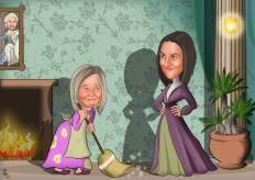 Sindirella-uveyanne-karikaturu