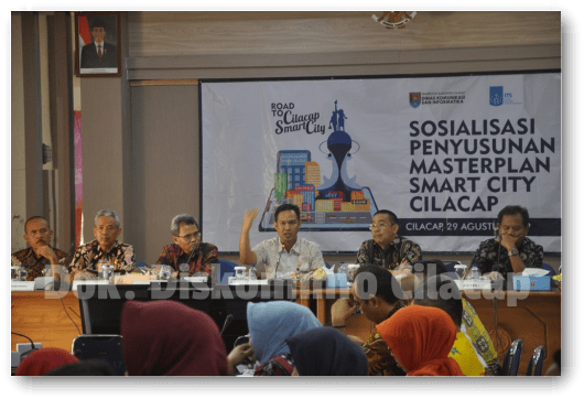 Gandeng ITS, Diskominfo Cilacap Susun Masterplan Smart City