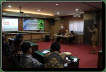 Uji Publik PPID Kabupaten Cilacap dalam rangka pemeringkatan Badan Publik di Semarang.
