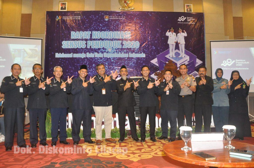 BPS Kabupaten Cilacap Gelar Rakor SP 2020