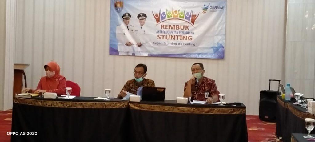 Pemkab Cilacap, Tetap Konsisten Turunkan Angka Stunting, Meski Pandemi Covid-19 Masih Melanda