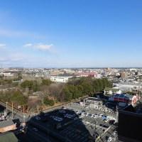 ナイスシティアリーナ駅東公園からの眺望