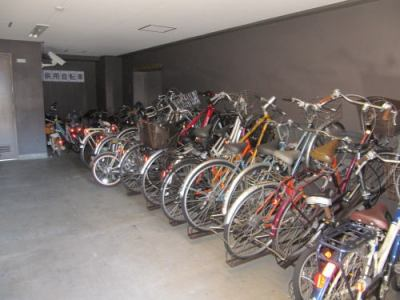 ポレスターセントラルシティ桜の駐輪場