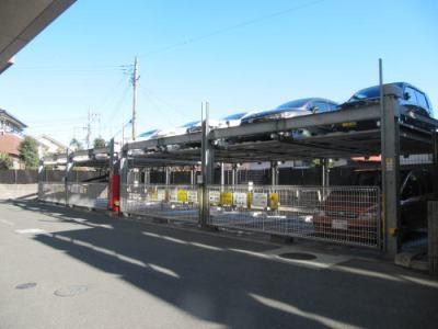 ポレスターセントラルシティ桜の機械式駐車場