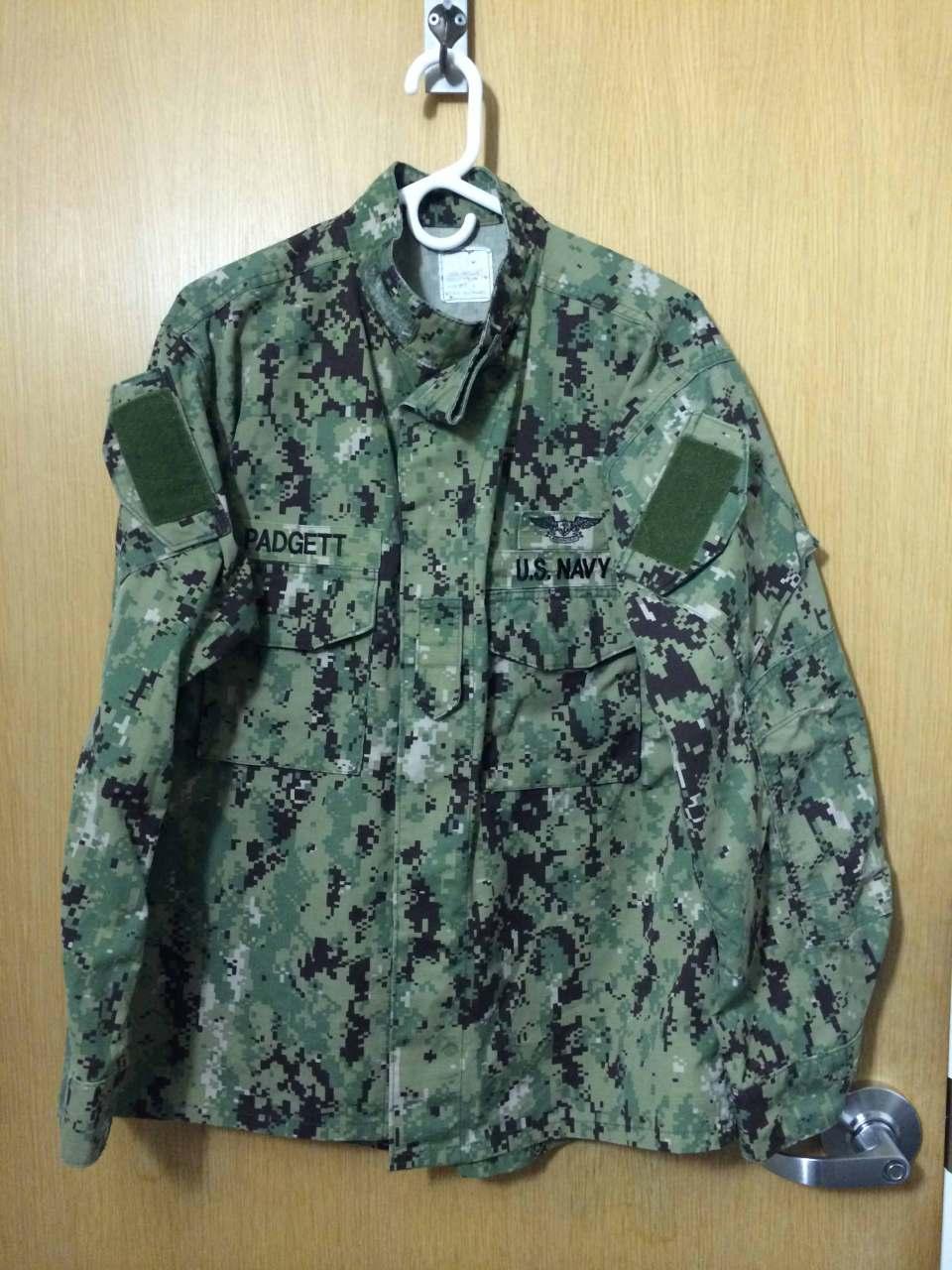 US Navy Working Uniform (NWU) Type III AOR 2 Camo (2010