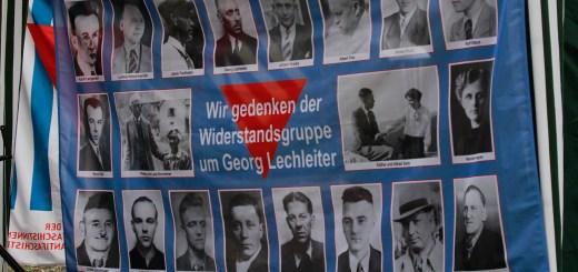 VVN gedenkt der Lechleiter-Gruppe