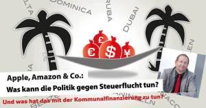 Apple, Amazon & Co: Was kann die Politik gegen Steuerflucht tun? @ Jungbuschhalle  | Mannheim | Baden-Württemberg | Deutschland