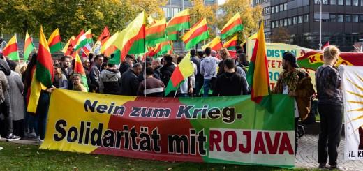 Demonstration Sa. 26. Oktober in Mannheim: Stoppt den türkischen Angriffskrieg!