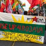 """Große Demo in Mannheim: """"Nein zum völkerrechtswidrigen Angriffskrieg der Türkei!"""" [mit Bildergalerie und Video]"""