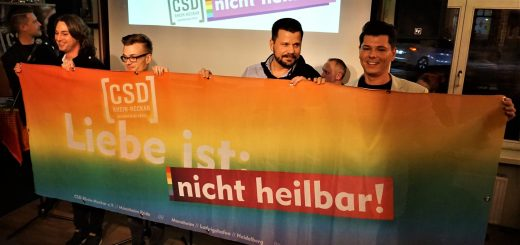 """Neujahrsempfang des CSD Rhein-Neckar: """"Liebe ist nicht heilbar"""""""