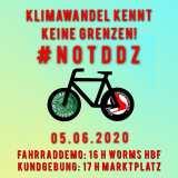 """,,Klimawandel kennt keine Grenzen"""" - Block TddZ in Worms"""