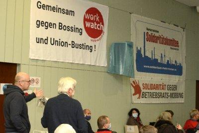 Bundesweite Konferenz gegen Betriebsratsmobbing in Mannheim  - ein Bericht