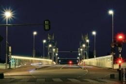 Typisches Anwendungsbeispiel für technische Straßenleuchten