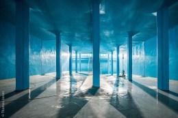 Überblick über den komplett sanierten Günzburger Trinkwasserspeicher