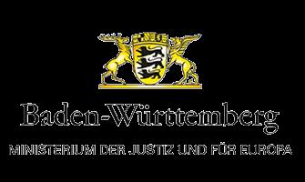 Ministerium der Justiz Logo